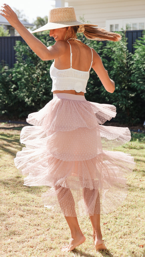 Lilliana Skirt (Blush) (Sample SaleUSE)