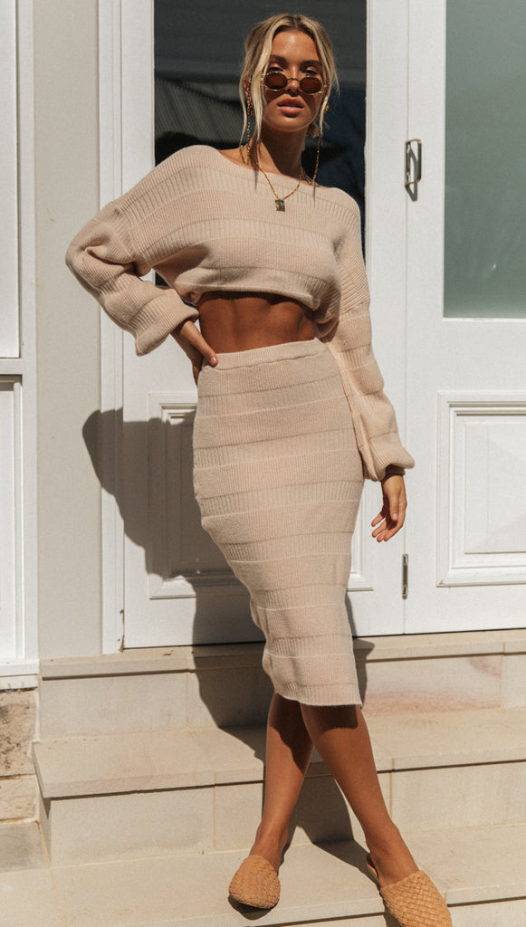Donatella Knit (Beige)