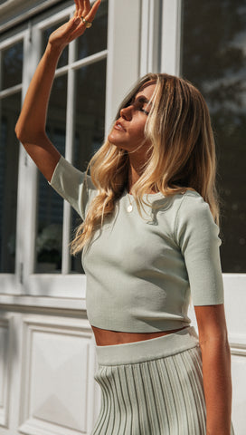 Ciara Top (Mint)
