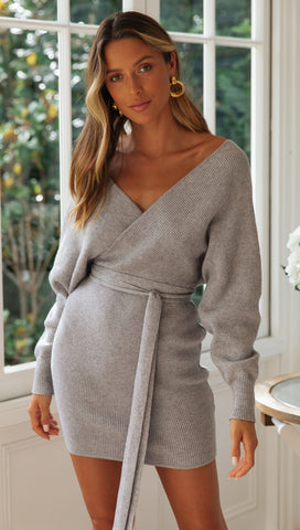 Mornington Knit Dress (Grey)