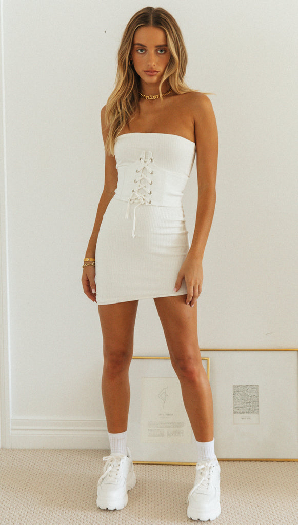 Nikita Dress (White)