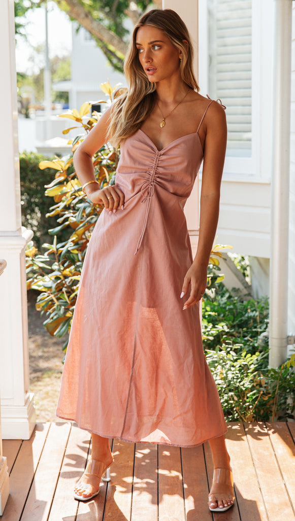 Gwendolyn Dress (Blush)