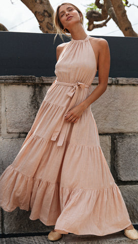 Visionary Dress (Blush)