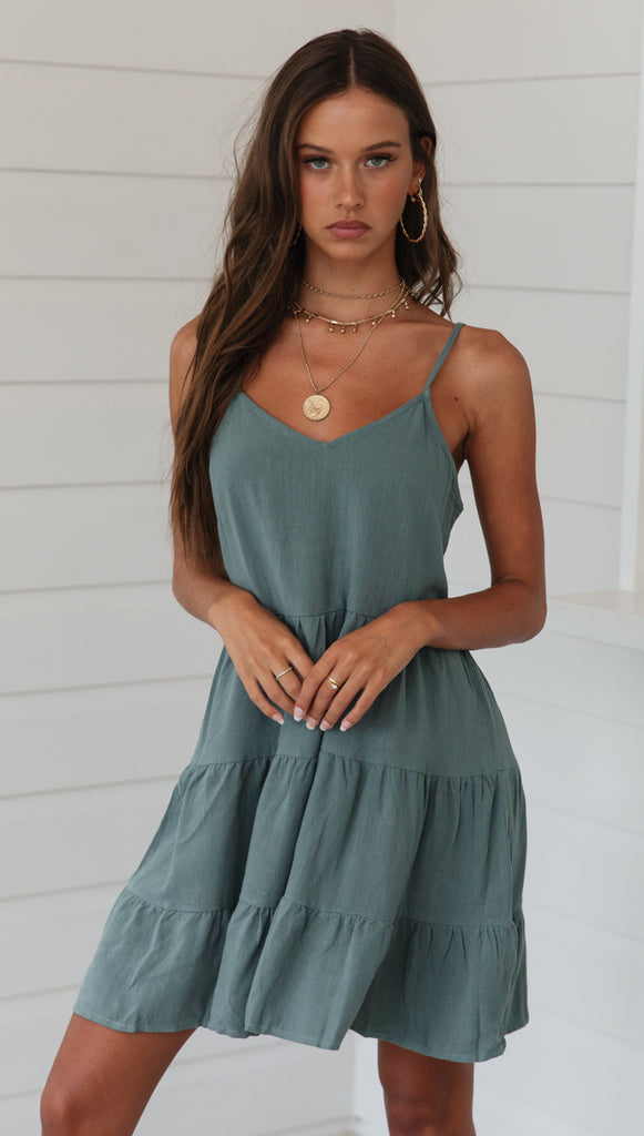 Nothing Compares Dress (Emerald)