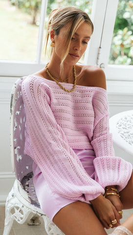 Clementine Knit (Lilac)