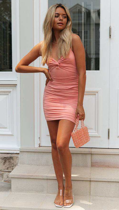 Timeless Mini Dress (Pink)
