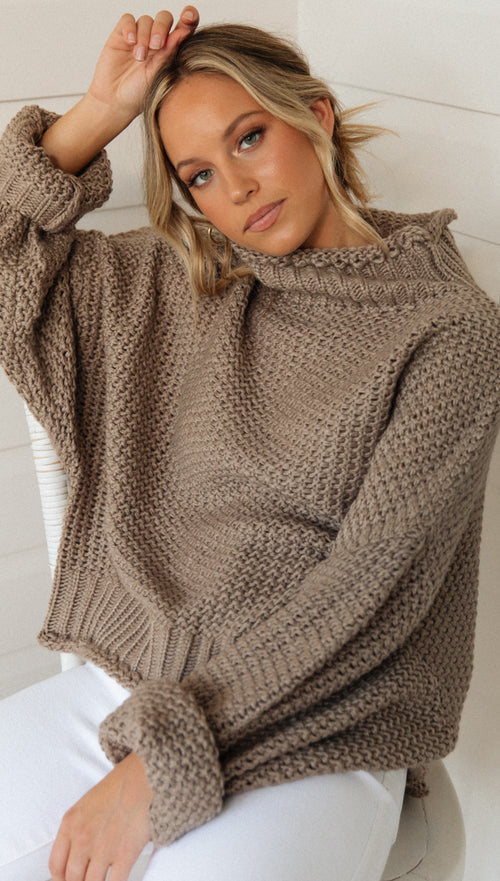 Milan Knit (Latte)