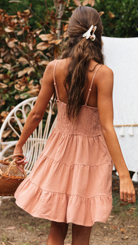 Nothing Compares Dress (Mocha)