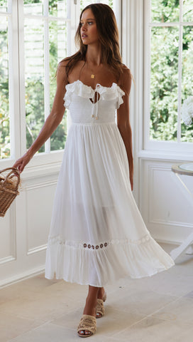 Summer Solstice Dress (White)