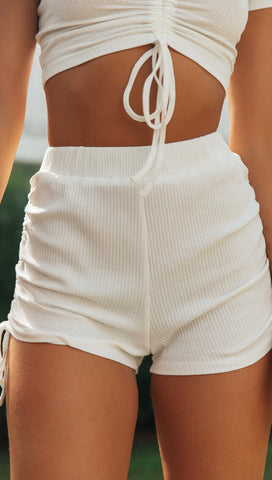 Holly Shorts (White)