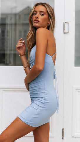 Armelle Dress (Blue)