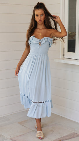 Summer Solstice Dress (Ice Blue)