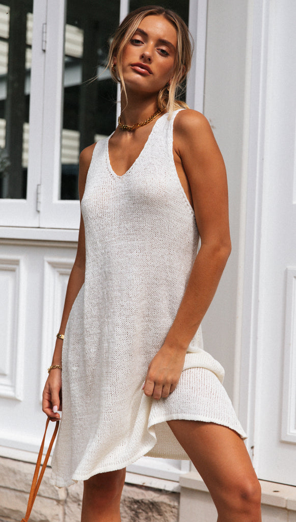 Burlington Dress (White)