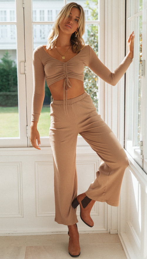 Zahra Pants (Tan)