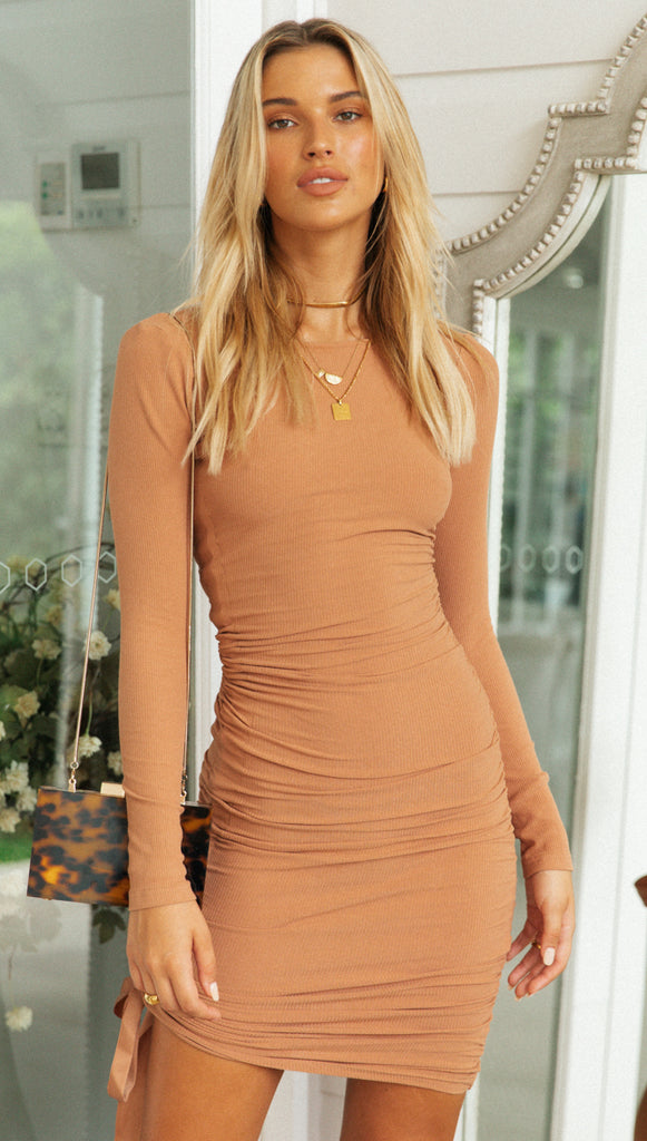 Goldrush Midi Dress