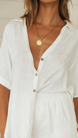 Somerset Top (White)
