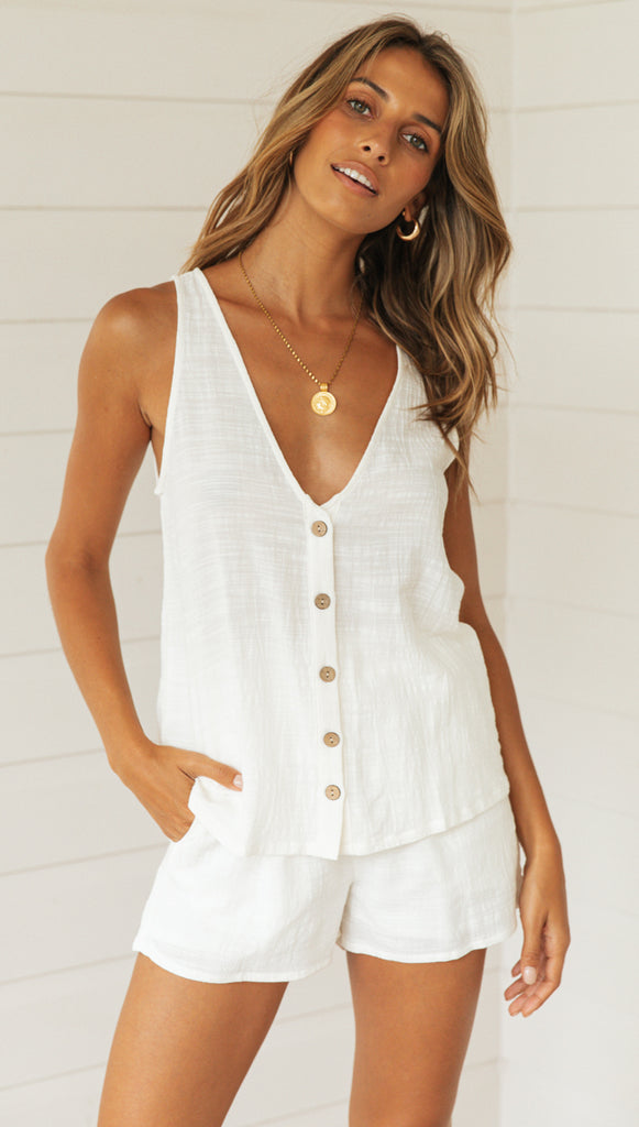 Morgan Top (White)