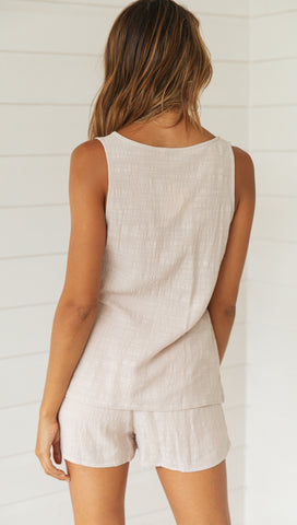 Morgan Top (Beige)