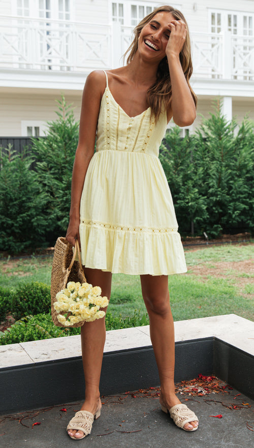 Lexie Dress (Yellow)