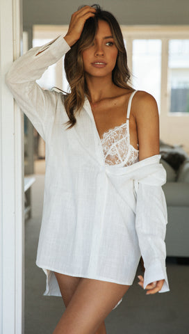 City Slicker Top (White)