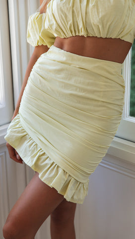 Lost Love Skirt (Citrus)