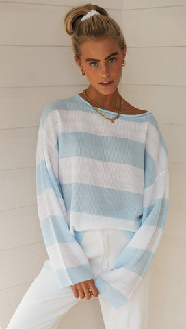 Sadie Knit (Blue)