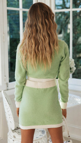 Beverly Hills Skirt (Apple Green)