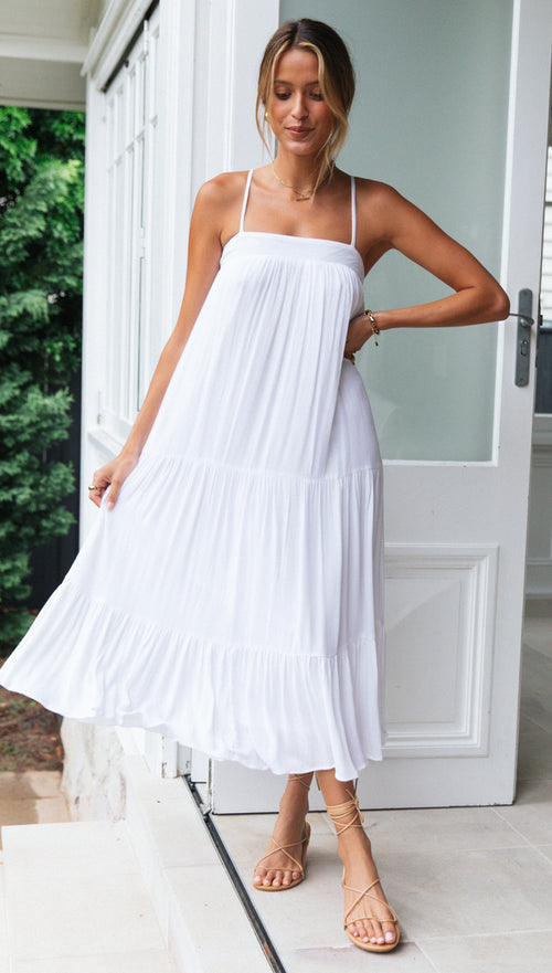 St Tropez Dress (White)