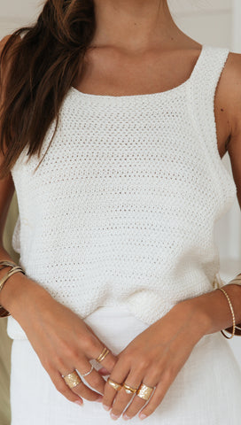 June Top (Cream)