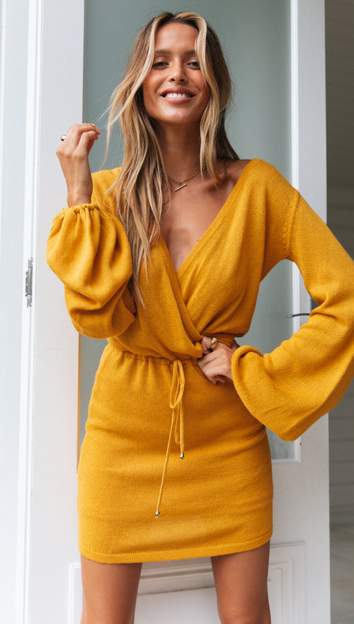 Carmel Knit Dress