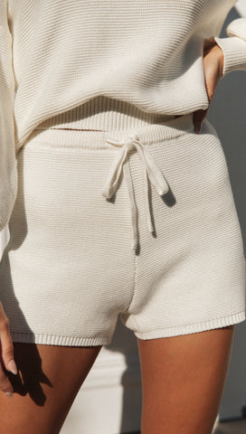 Amour Shorts (White)