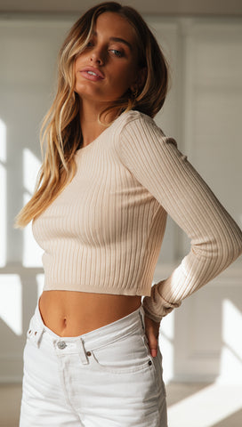 Tuscan Top (Soft Beige)