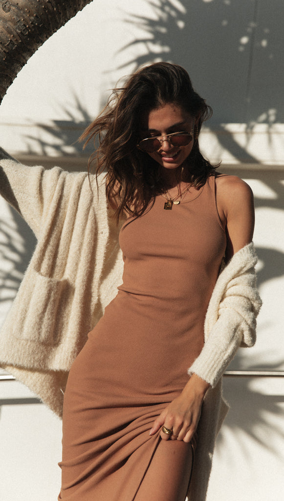 Estelle Dress (Camel)