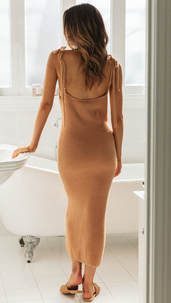 Tiela Dress (Tan)