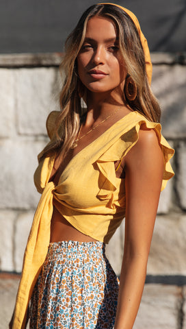 Heart Of Gold Top (Yellow)