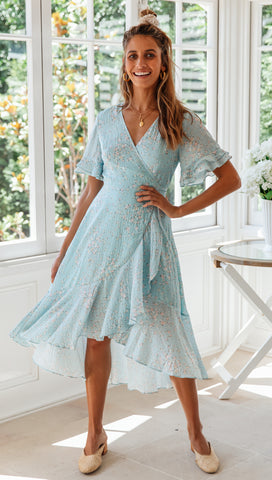 Laguna Wrap Dress