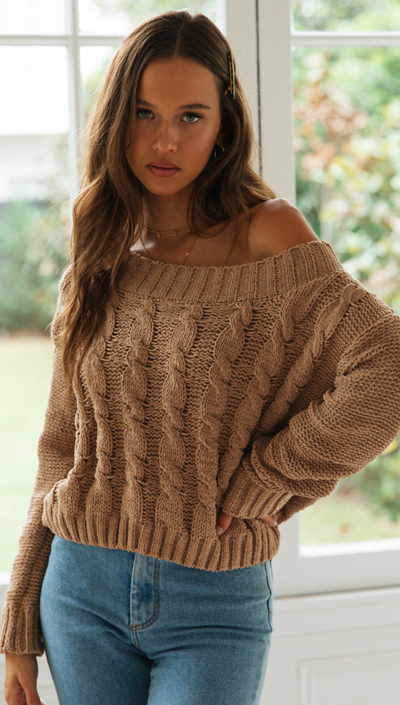 Berlin Knit (Camel)