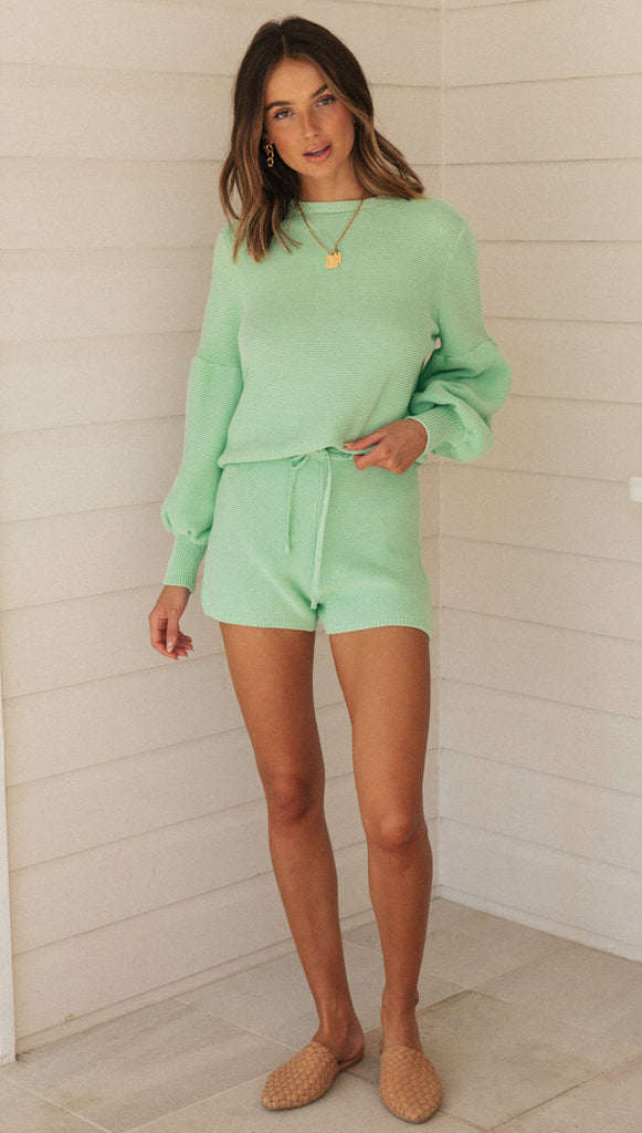 Amour Shorts (Green)