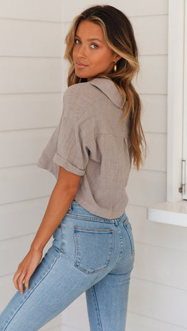 Charleston Top (Grey)