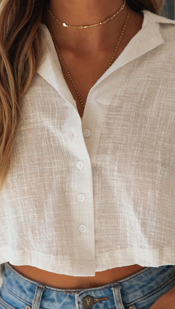 Charleston Top (Cream)