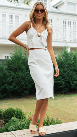 Felecity Skirt (White)