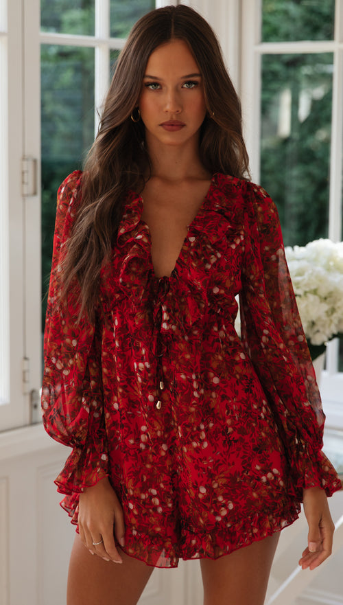 Candlelight Playsuit