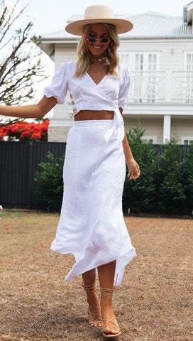 Panama Skirt (White)