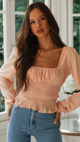 Harper Top (Pink)