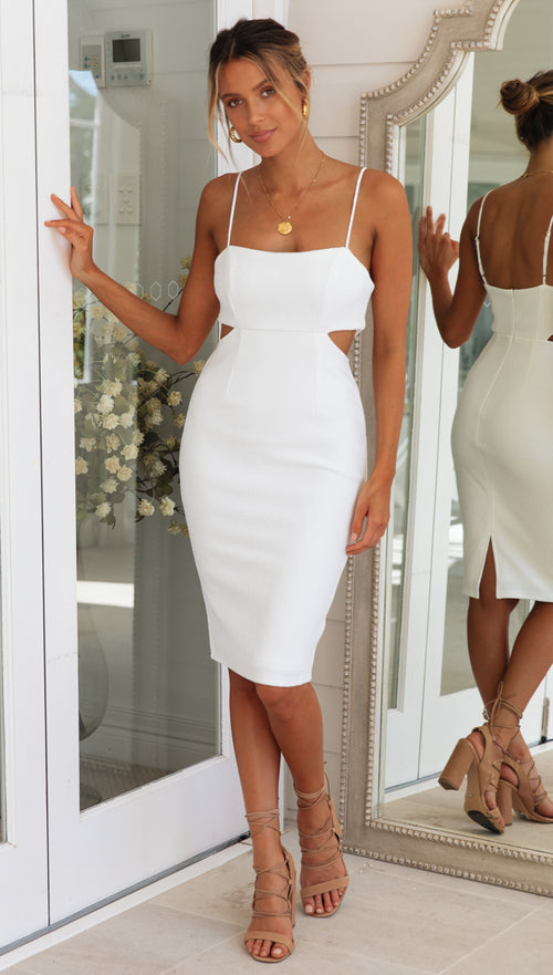 Coral Springs Dress (White)