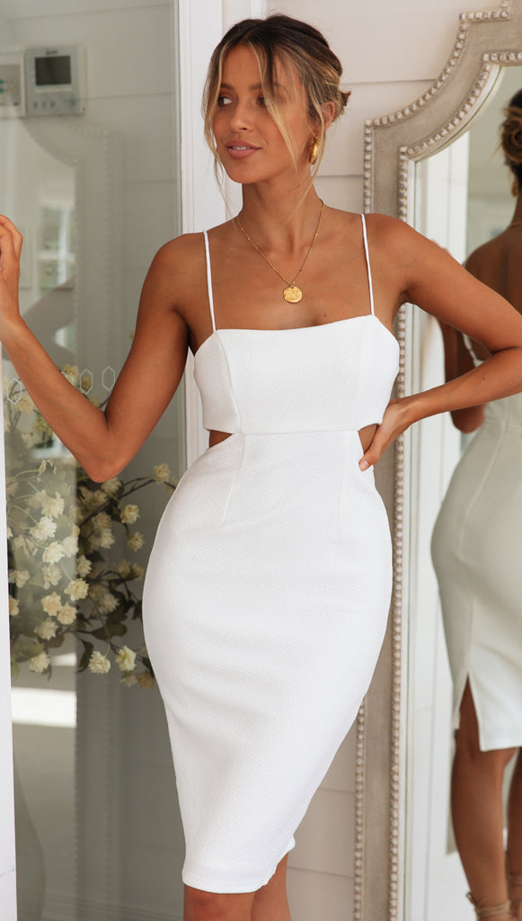 Coral Springs Dress (White) Sample Sale