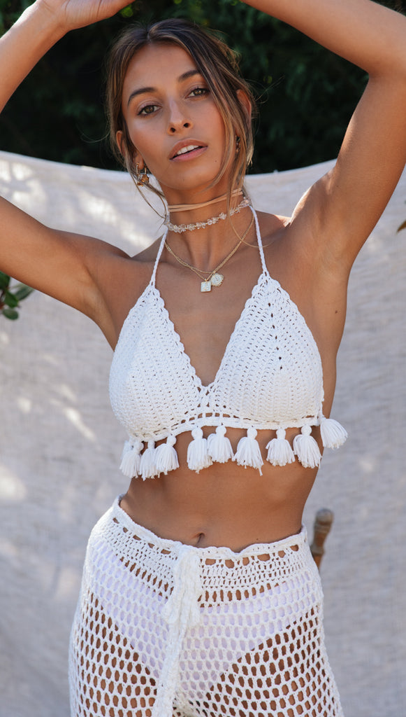 Corfu Crop (White)