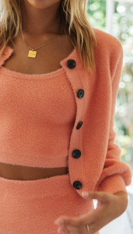 Raina Cardigan (Watermelon)