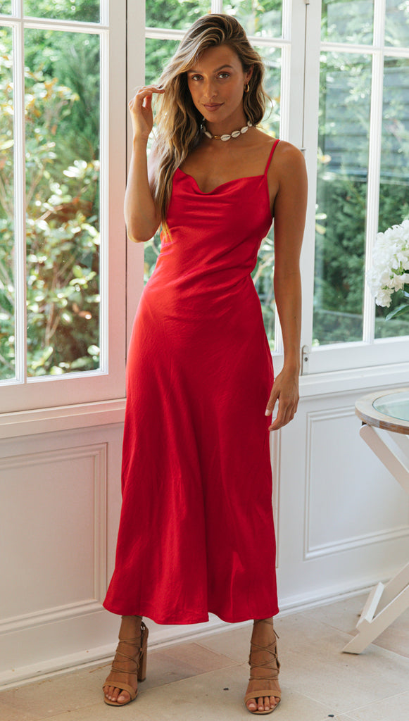 Golden Age Dress (Red)