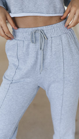 Kalina Pants (Grey Marle)
